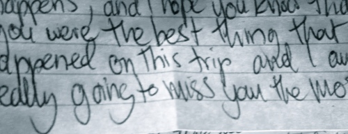Danny James blog letters